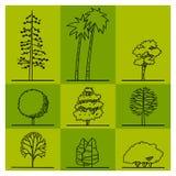 Disegno dell'albero Immagini Stock Libere da Diritti