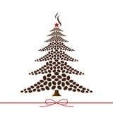 Disegno dell'albero di Natale Fotografie Stock Libere da Diritti