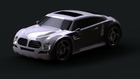 Disegno dell'automobile di concetto illustrazione di stock