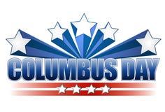 Disegno dell'illustrazione di giorno di Columbus Fotografia Stock Libera da Diritti