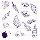 Disegno dell'inchiostro delle coperture royalty illustrazione gratis