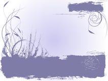 Disegno dell'inchiostro di Grunge Fotografie Stock