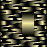 Disegno dell'oro illustrazione di stock