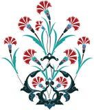 Disegno dell'ottomano Immagini Stock