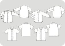 Disegno della camicia Fotografie Stock