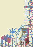 Disegno della carta da parati di arte Fotografia Stock Libera da Diritti