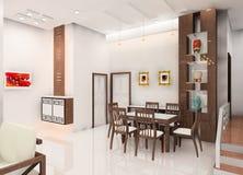 Disegno della cucina Fotografia Stock