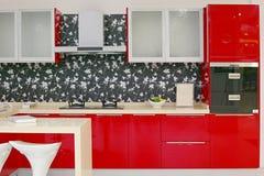 Disegno della cucina Fotografie Stock
