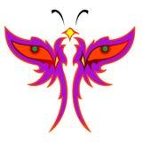 Disegno della farfalla Fotografie Stock Libere da Diritti