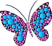 Disegno della farfalla Fotografia Stock