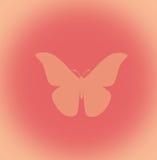 Disegno della farfalla Immagine Stock