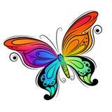 Disegno della farfalla di vettore Immagine Stock Libera da Diritti