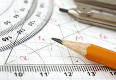 Disegno della geometria illustrazione di stock