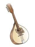 Disegno della mano del mandolino Immagine Stock Libera da Diritti