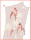 Disegno della maschera floreale royalty illustrazione gratis
