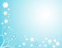 Disegno della neve di inverno illustrazione di stock