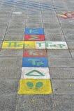 Disegno della pavimentazione Immagine Stock Libera da Diritti