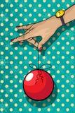 Disegno della scheda di Christams Immagini Stock Libere da Diritti