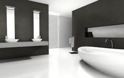Disegno della stanza da bagno Fotografia Stock