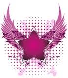 Disegno della stella di modo Fotografia Stock Libera da Diritti