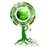 Disegno della terra di Eco Immagini Stock