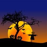 Disegno della zucca di Halloween Immagine Stock Libera da Diritti