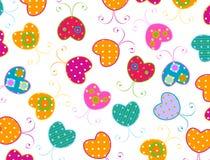 Disegno delle farfalle Fotografia Stock Libera da Diritti