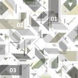 Disegno di alta tecnologia per il infographics. Immagine Stock
