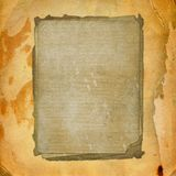 Disegno di carta estraneo lerciume Fotografie Stock Libere da Diritti