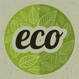 Disegno di Eco Fotografia Stock
