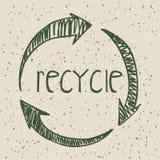 Disegno di Eco Fotografie Stock