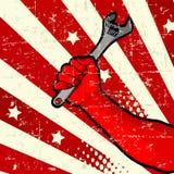 Disegno di Festa del Lavoro Fotografia Stock Libera da Diritti