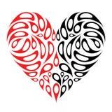 Disegno di figura del cuore illustrazione vettoriale
