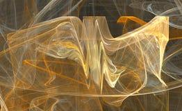 Disegno di frattalo di energia Fotografia Stock