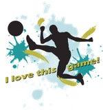 Disegno di gioco del calcio royalty illustrazione gratis