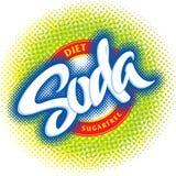 Disegno di imballaggio della soda (vettore) Fotografia Stock Libera da Diritti