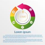 Disegno di Infographic Immagini Stock Libere da Diritti