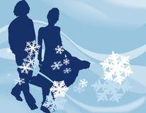 Disegno di inverno Immagine Stock