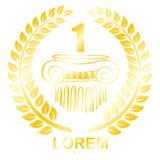 Disegno di logo di vettore illustrazione di stock