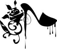 Disegno di modo di Grunge della sgocciolatura Fotografia Stock Libera da Diritti