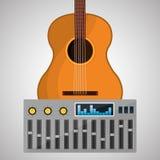 Disegno di musica Illustrazione Concetto di intrattenimento royalty illustrazione gratis