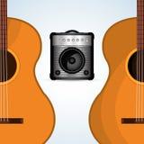Disegno di musica Illustrazione isolata Concetto di intrattenimento illustrazione di stock