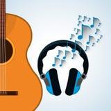 Disegno di musica Illustrazione isolata Concetto di intrattenimento illustrazione vettoriale
