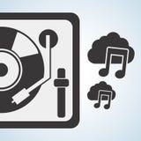 Disegno di musica Illustrazione isolata Concetto di intrattenimento royalty illustrazione gratis