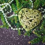 Disegno di natale - Buon Natale Nuovo anno Fotografia Stock