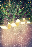 Disegno di natale - Buon Natale Nuovo anno Immagini Stock