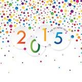 Disegno di nuovo anno illustrazione vettoriale