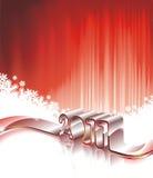 Disegno di nuovo anno felice 2011 Fotografia Stock