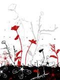Disegno di piante asciutto illustrazione vettoriale