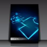 Disegno di rete astratto Fotografia Stock